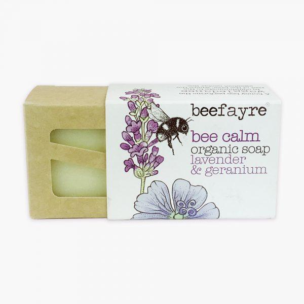 Bee Calm Organic Soap Lavender & Geranium