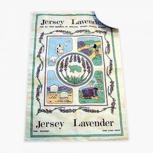 Lavender Farm Tea Towel