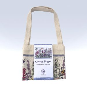 Jersey Lavender Canvas Shopper Shopping Bag