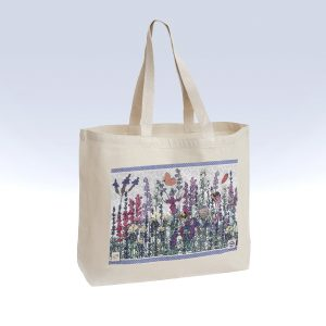 Full canvas shopper bag