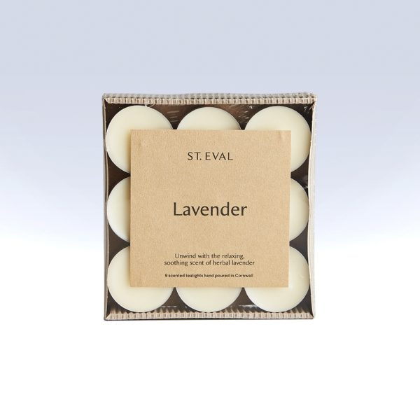 St Eval Candle Co Lavender Tealights